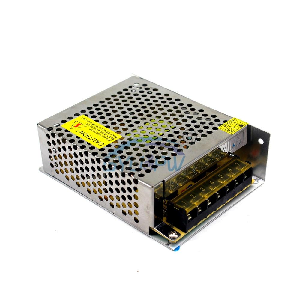 Одиночный выход импульсный источник питания dc 18 в 5.6A 100 Вт трансформатор Светодиодный драйвер 110 В 220 В переменного тока в постоянный SMPS для светодиодный освещения CCTV CNC
