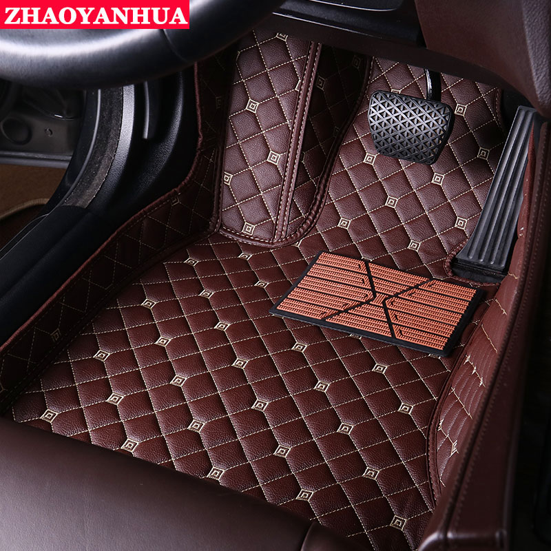 Tapis de sol de voiture de conduite à droite/conduite à gauche adaptés aux besoins du client pour Toyota 4500 LC100 previa yaris seulement tapis de sol de voiture de siège de conducteur