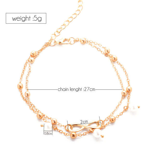 Ankle Anklets for Women chain style 1