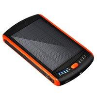 Открытый ноутбук двигаться power Солнечная зарядка сокровище 23000 мА мульти интерфейс мобильного телефона Tablet аккумуляторная батарея