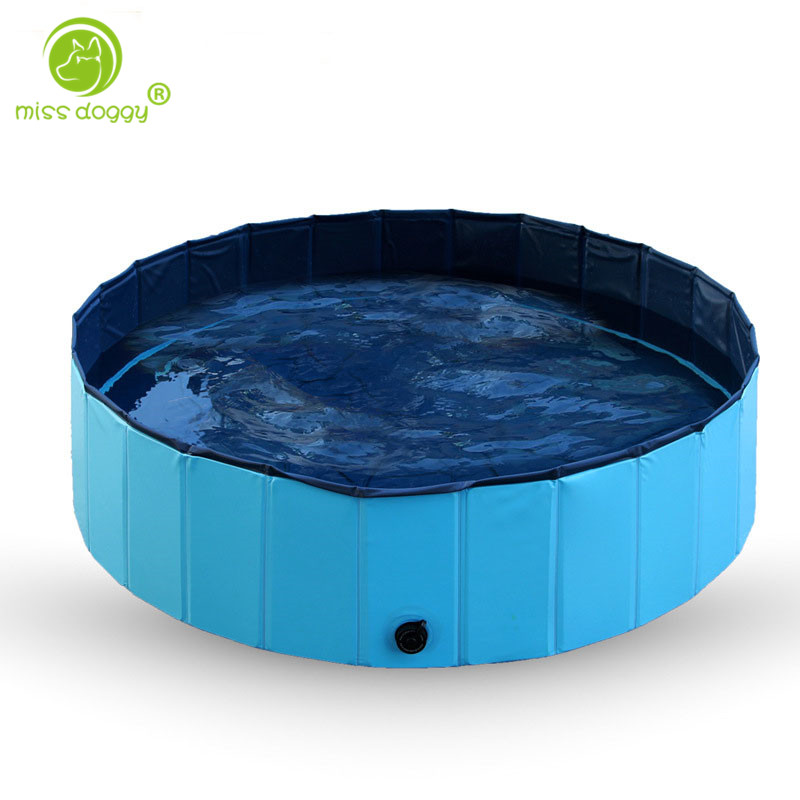 Foldable PVC Pet Swimming Pool Bathing Tub Bathtub Dog Cats Washer Pet Toys Top Quality Dog Accessories