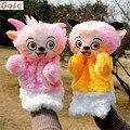Marionetas del dedo de la Familia Dentro de Ovejas De Peluche Animal de Peluche Navidad Boda de Peluche de Juguete Brinquedo Menina Infantil Superior