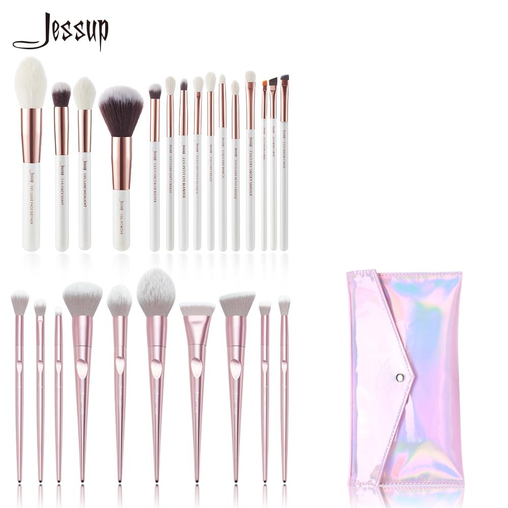 Güzellik ve Sağlık'ten Göz Farı Aplikatörü'de Jessup Makyaj fırçaları fırçalar güzellik makyaj fırça ve 1 ADET Kozmetik çantası kadın CB003 Vakfı Pudra karıştırma'da  Grup 1