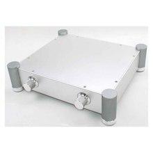YYSLB DIY Amplifikatör Kutusu 320*70*280mm WA70 Tam Alüminyum Amplifikatör Şasi Preamp Tüp Saf Sahne Case kutusu Gümüş