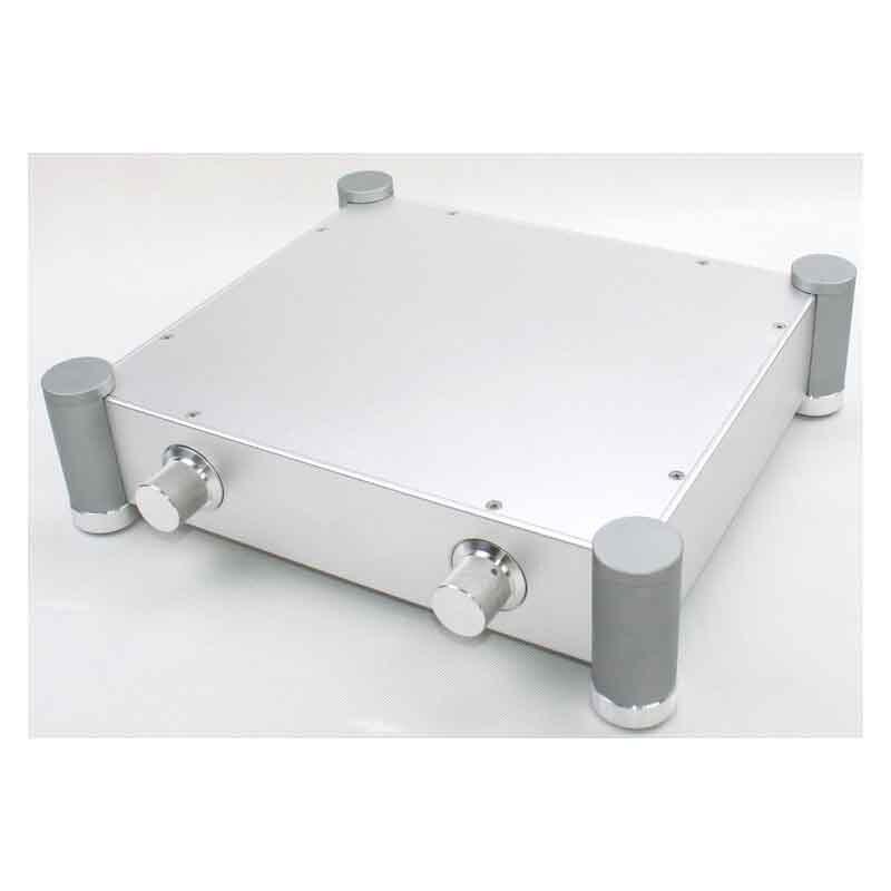 YYSLB bricolage amplificateur boîtier 320*70*280mm WA70 plein aluminium amplificateur châssis préamp Tube pur scène boîtier boîte argent