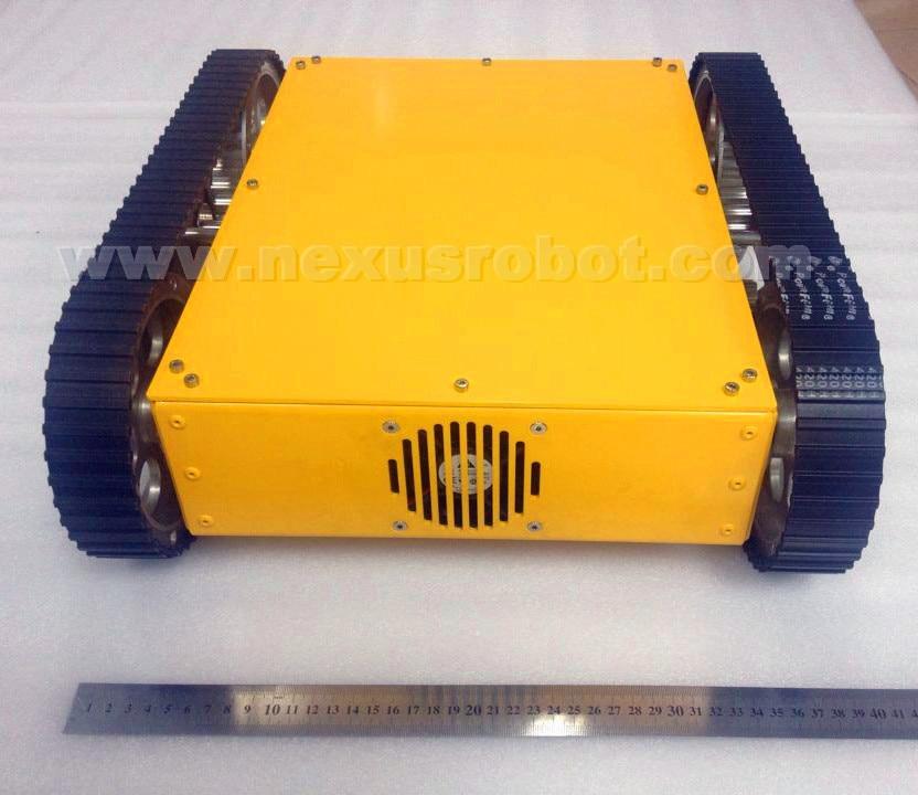 Yeni böyük izlənilmiş mobil tank robot dəsti 10023