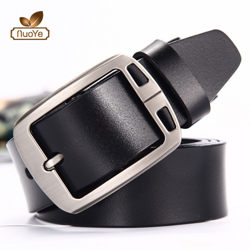 Nuoye 100% cowhide genuine leather belts for men cowboy strap brand male vintage fancy jeans designer belt men high quality