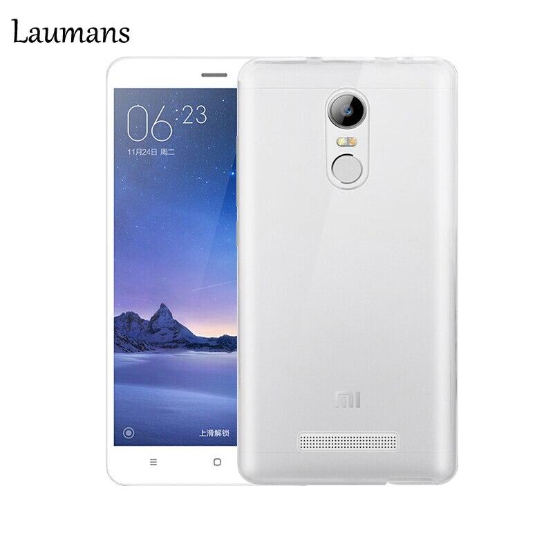 imágenes para Laumans 20 unids/lote Caja Del Teléfono Para xiaomi redmi nota 3 Teléfono Contraportada Ultra delgado Tpu Flexible Suave Transparente