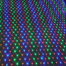 Net Lighting For Outdoors: LED Christmas lights outdoor waterproof Net String Lights 1.5M x1.5M 96LED  AC 220V/110V garland wedding decoration fairy Lights,Lighting
