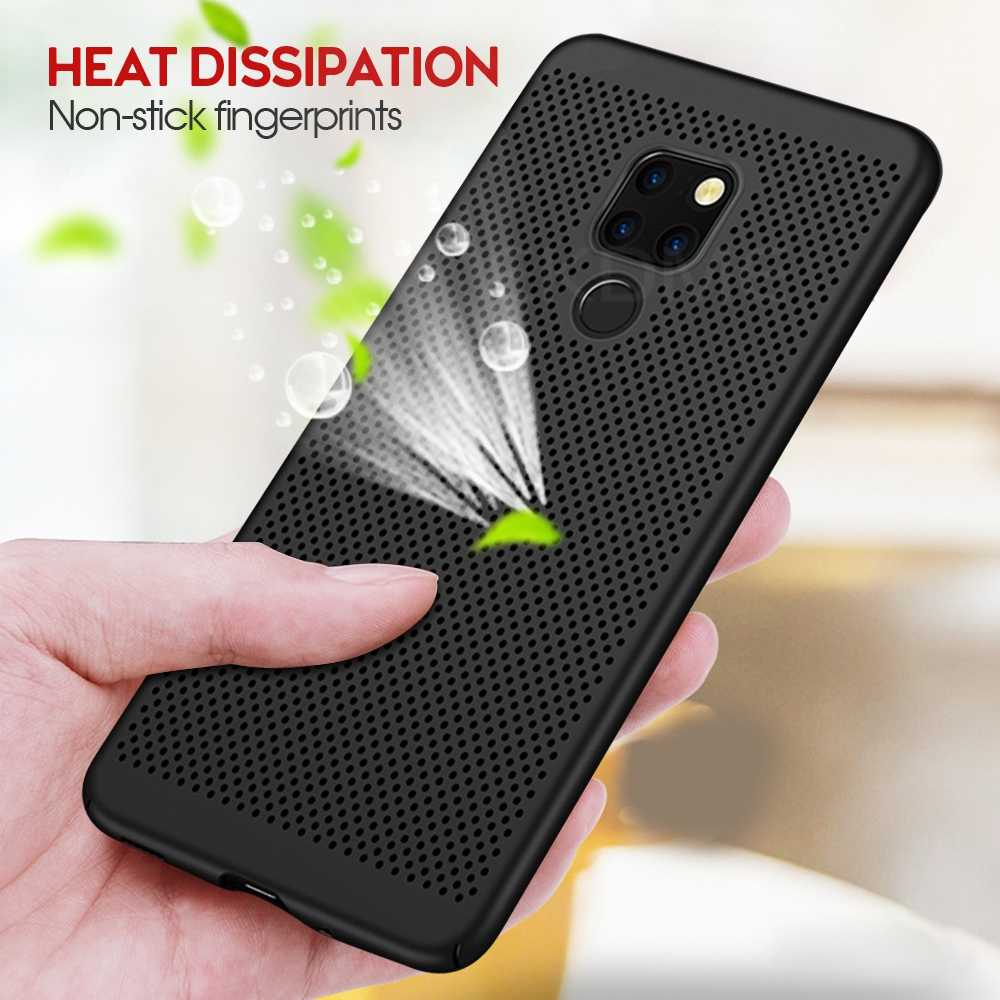 Heat Dissipation Case For Huawei P30 P20 Pro P10 Lite Mate20 Lite Nova 4 3 3i 2 For Honor 7A Pro 5.7 7A RU 7C Pro 5.99 Cases