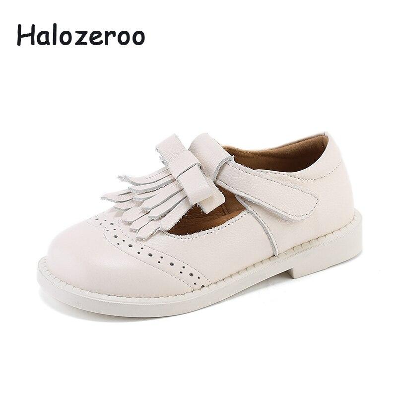 b2f48ee10 Новинка 2019 года; весенняя обувь с бантом для маленьких девочек; детская  обувь с кисточками; детская обувь из натуральной кожи; школьная обув.