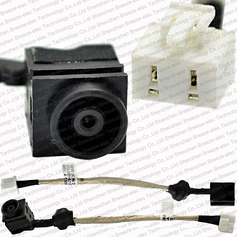 GENUINE NEW Laptop DC JACK POWER SOCKET CABLE harness connector for SONY VAIO VGN NS VGN-NS M790 PCG-7142L 7152L 073-0001-5213_A new dc power jack socket connector wire harness for laptop dell inspiron 15 3558 5455 5000 5555 5575 5755 5758