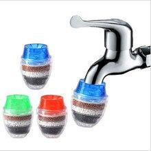 Круглый смеситель фильтр Водопроводной воды фильтр очиститель кухонный кран фильтр для воды с активированным углем аксессуары для ванной комнаты 1,24