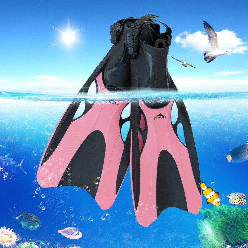 Sports nautiques en bord de mer plongée adulte palmes d'entraînement de natation palmes de natation confort palmes de pied submersibles