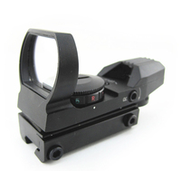 11mm tactical 1x22x33 air rifle multi reticle 4 red dot sight scope