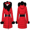 More winter warm pregnant women down jacket, imitation fur collars pregnant women cotton coat, women's clothing in winter