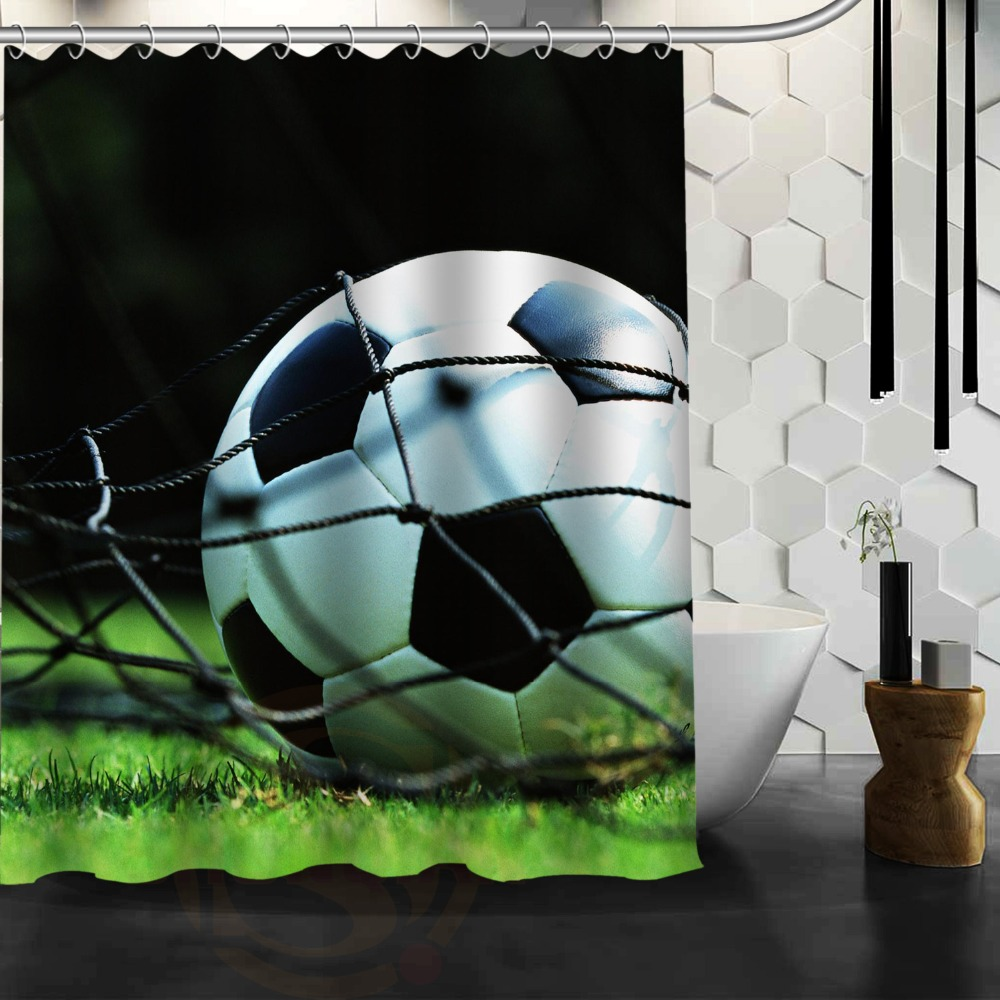 Diseño clásico de Fútbol Sin Detenerse Productos Mildewproof PEVA Impermeable Co