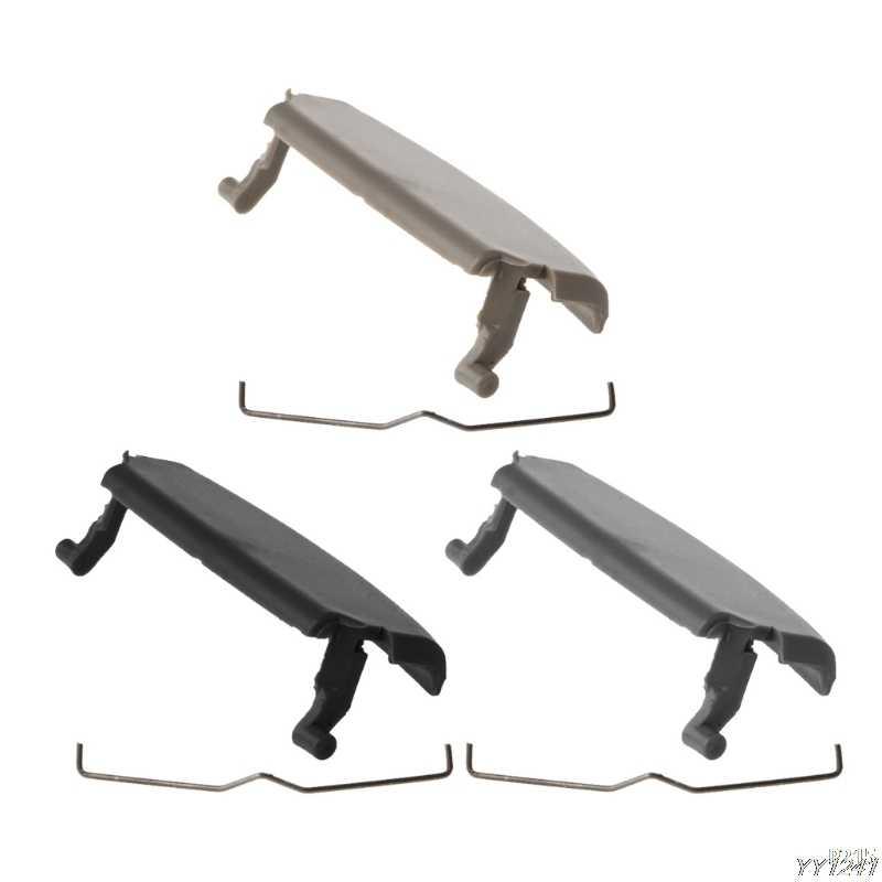 1 قطعة مسند الذراع عالية الجودة غطاء وحدة التحكم مركز مزلاج كليب الصيد لأودي A4 B6 B7 02-08 قطع غيار السيارات 3 ألوان