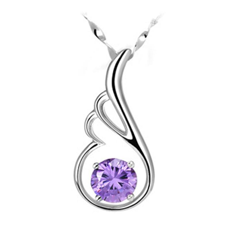 Aliexpress.com : Buy NEHZY Silver Purple crystal angel