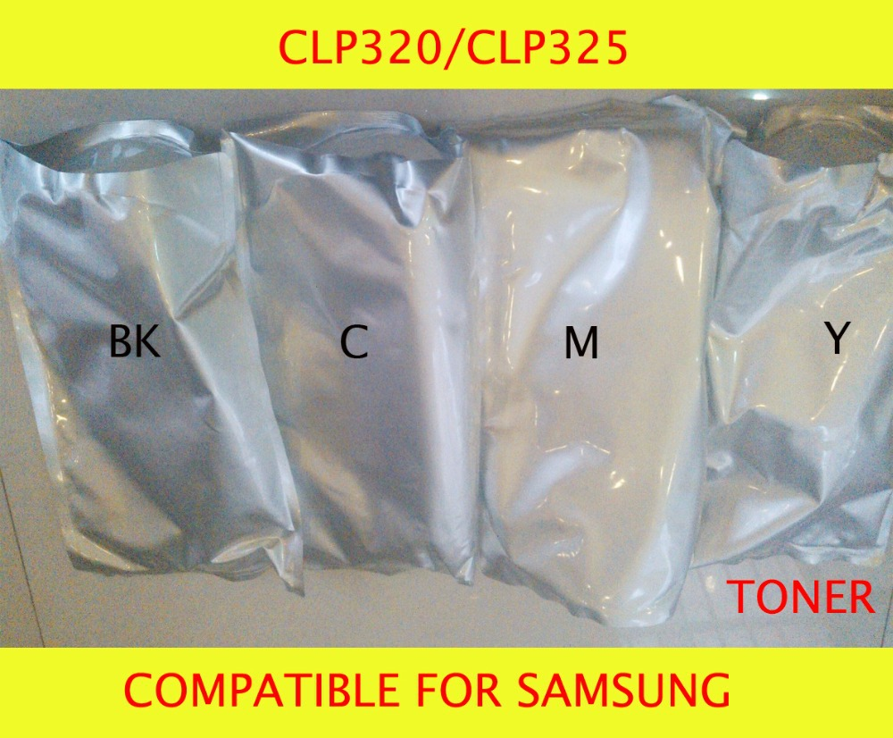 Fast Delivery Compatible for samsung CLP320/CLP325 Chemical Color Toner Powder Free Shipping