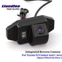 Liandlee For Toyota FJ Cruiser 2007~2011 Car Reverse Parking Camera Backup Rear View Camera / SONY HD CCD Integrated Nigh Vision