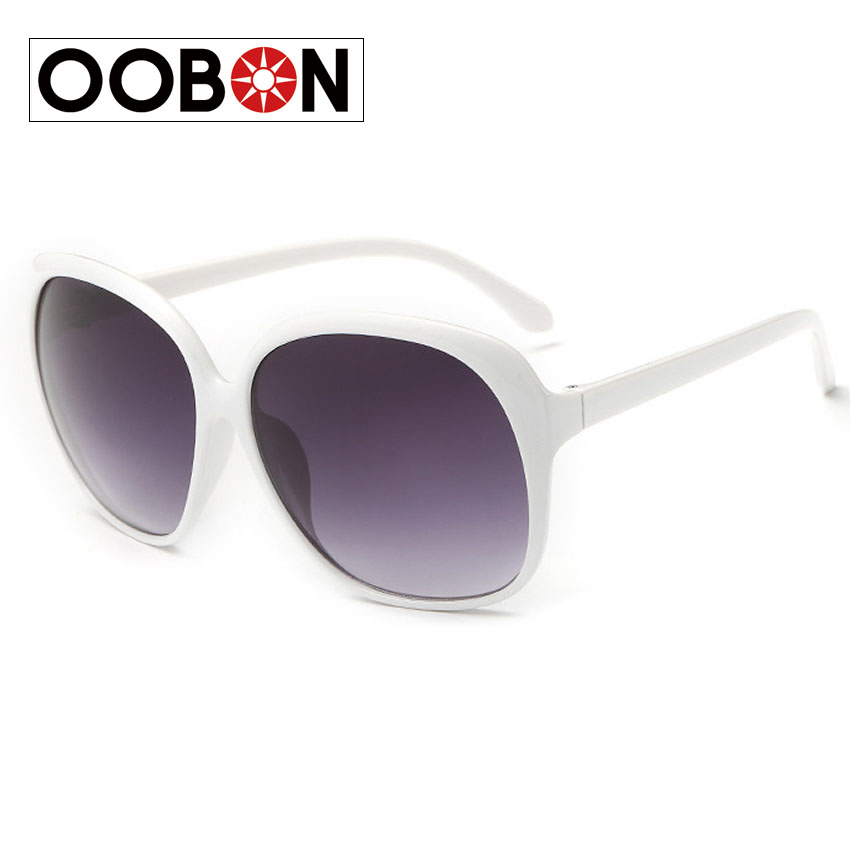 a3641543f0d Oobon Hot Sale 2017 Ladies Frame Retro Oversized Round Sunglasses Women  Brand Designer Women s Glasses Female Uv400 Eyeglasses-in Sunglasses from  Apparel ...