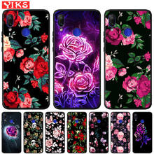 Rose Flowers Matte Cover For Xiaomi Redmi Note 7 7A 6 Pro 6A 5A Prime Mi A1 5X A