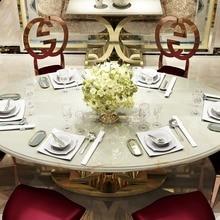 Rama Dymasty stainless steel Dining Room Set