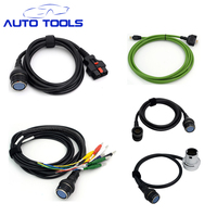 Full set car cable For MB STAR C4 14 pin Cable + 38 pin + main test cable+ net cable + 8 pin car diagnostic tool