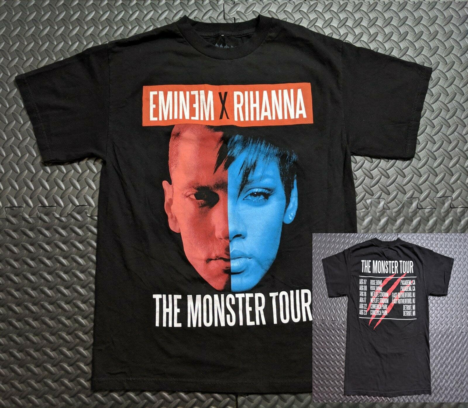 Eminem Mom/'s Spaghetti Color Black Size S to 3XL Men/'s Tshirt
