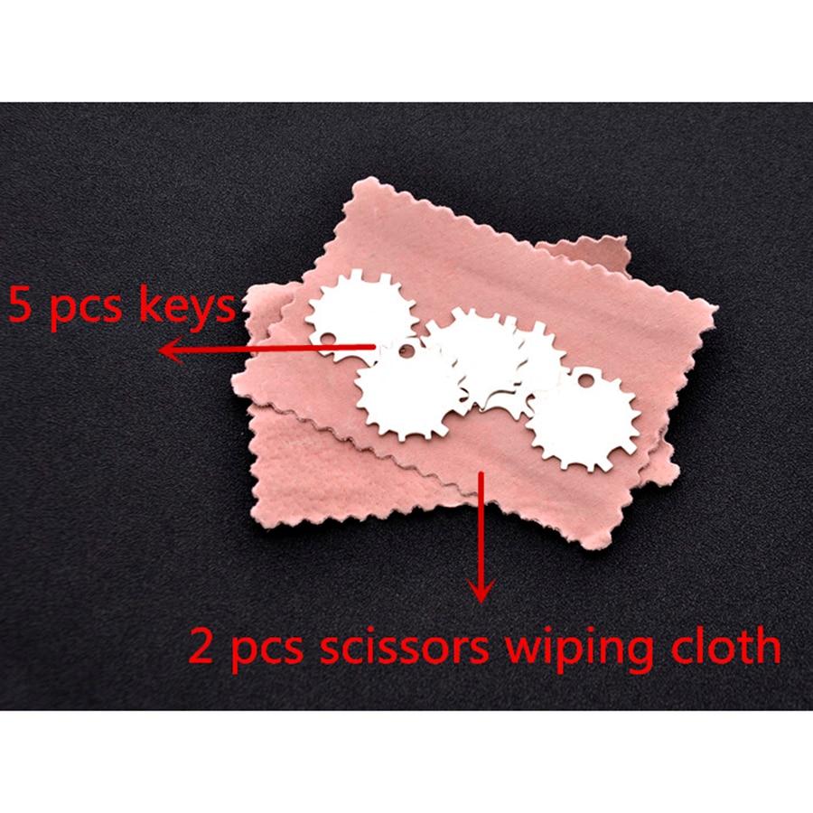 Купить с кэшбэком 1800pcs/set Plastic Washers for Hairdressing Scissor Accessory Different size for Washers Barber Salon Scissor 7*5mm/7*4mm/6*4mm