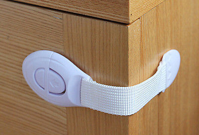 Child Kids Baby Care Safety Cabinet Locks Straps For Cabinet Drawer Refrigerator