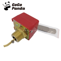 Free Shipping HFS 25 1 AC220 3A Water/Paddle Flow Sensors Male Thread Flow Paddle Water Pump Flow Switch HFS 20 3/4 HFS15 1/2