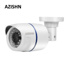 AZISHN Surveillance IP Camera H.265/H.264 FULL HD 1080P 2.0 Megapixel onvif Hi3516EV100 Outdoor Camera IP 1080P DC 12V/48V PoE