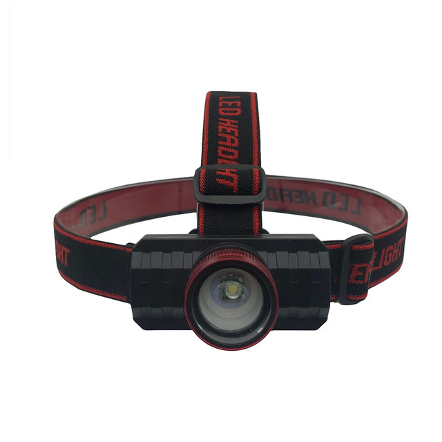 New Headlamp USB Rechargeable Head Light Zoomable T6 LED 18650 Headlight Torch Focusing Telescopic Headlight 1