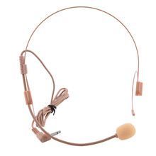 Vocal Wired Headset Microphone Nude Microfone Microfono for Voice Amplifier Speaker Mike With Bright Clear Sound
