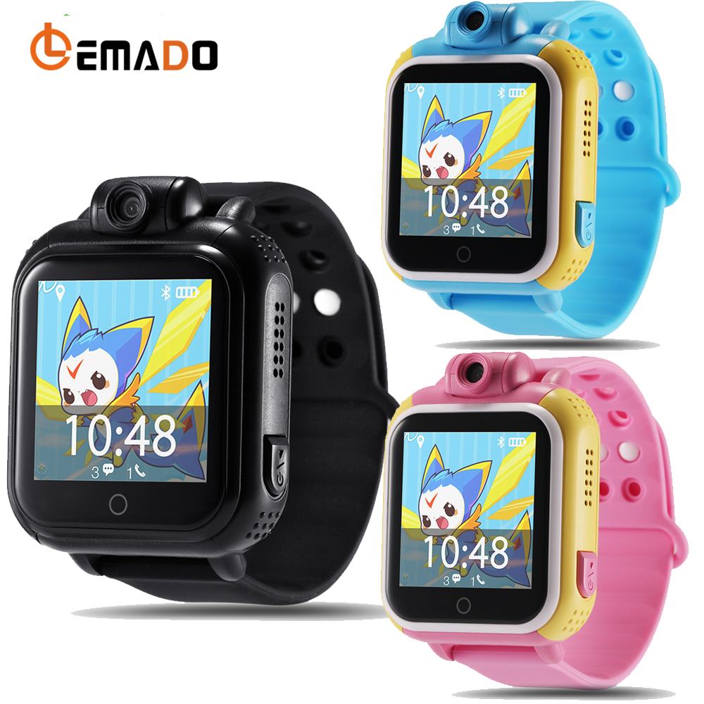 Lemado Smart watch Kids Wristwatch Q730 3G GPRS GPS Locator Tracker Smartwatch Baby Watch With Camera