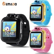 Lemado smart watch дети наручные часы q730 3 г gprs gps локатор трекер smartwatch детские часы с камерой для ios android phone