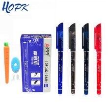 20 шт стираемая шариковая ручка 0,5 мм пишущий стержень синие Черные чернила ручка заправка школьника моющаяся ручка стираемая ручка канцелярские принадлежности