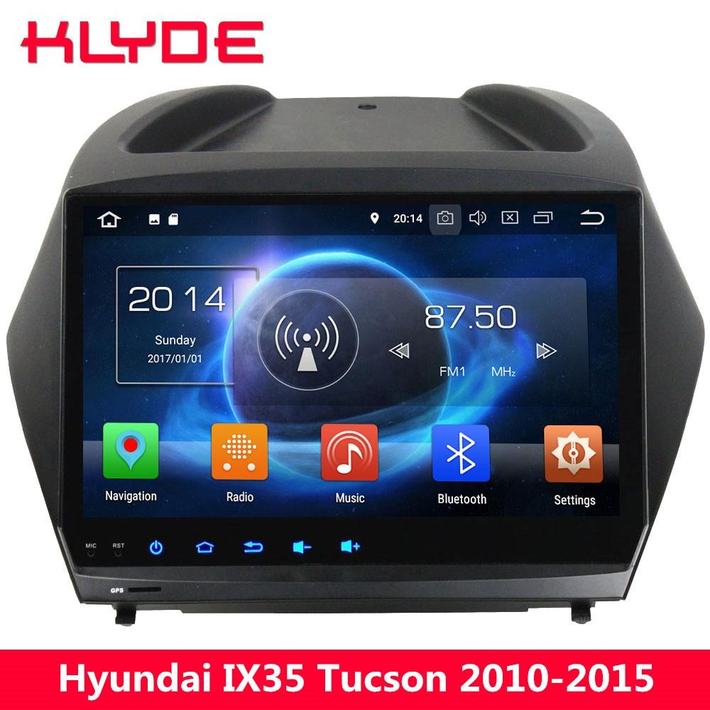 KLYDE 9 Octa Core 4G Android 8 4GB RAM 32GB ROM Car DVD Multimedia Player For Hyundai IX35 Tucson 2010 2011 2012 2013 2014 2015 for hyundai ix35 tucson 2010 2011 2012 auto front