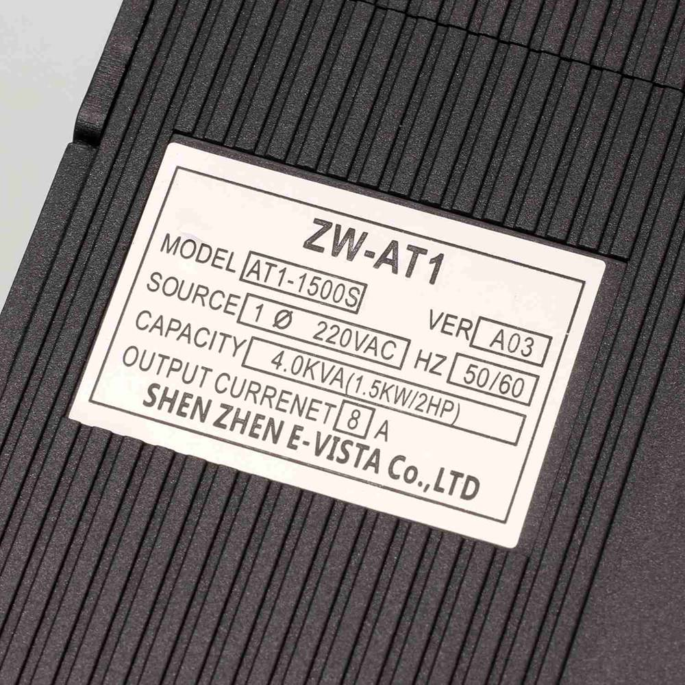 VFD Onduleur 1.5KW/2.2KW/4KW convertisseur de fréquence ZW-AT1 3 P 220 V Sortie CNC Broche Contrôle la vitesse du moteur VFD convertisseur - 3
