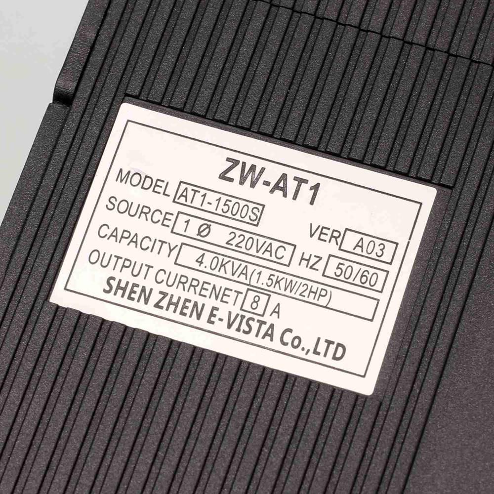 VFD inversor 1.5KW/2.2KW/4KW convertidor de frecuencia ZW-AT1 3 P 220 V de salida del motor del husillo CNC Control de velocidad VFD convertidor - 3