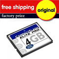 5PCS/LOT Factory Wholesale Real Capacity Compactflash Card Pass H2testw Guarantee CF Compact Flash Card 4GB 8GB 16GB 32GB 64GB