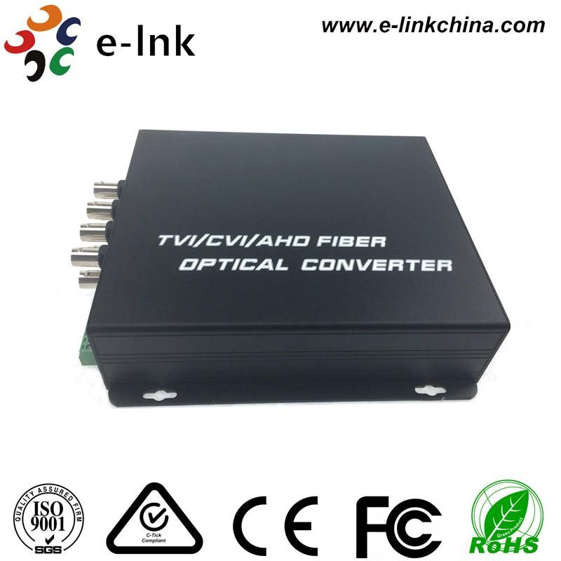 8ch HD CVI TVI AHD fiber transceiver 6