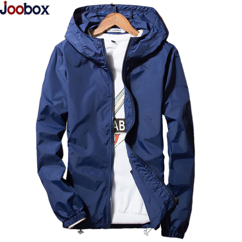 Новый 2017 весенне-летний жакет Для мужчин ветровка кожи Куртки Для мужчин с капюшоном повседневные куртки пальто плюс Размеры 5XL 6XL 7XL тонкое ...