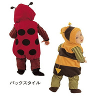 Baby Animal Rompers Bee Ladybug Shaped Long Sleeve Hooded Fleece Spring autumn Rompers For Baby Boy Girl Baby Clothing Cute new
