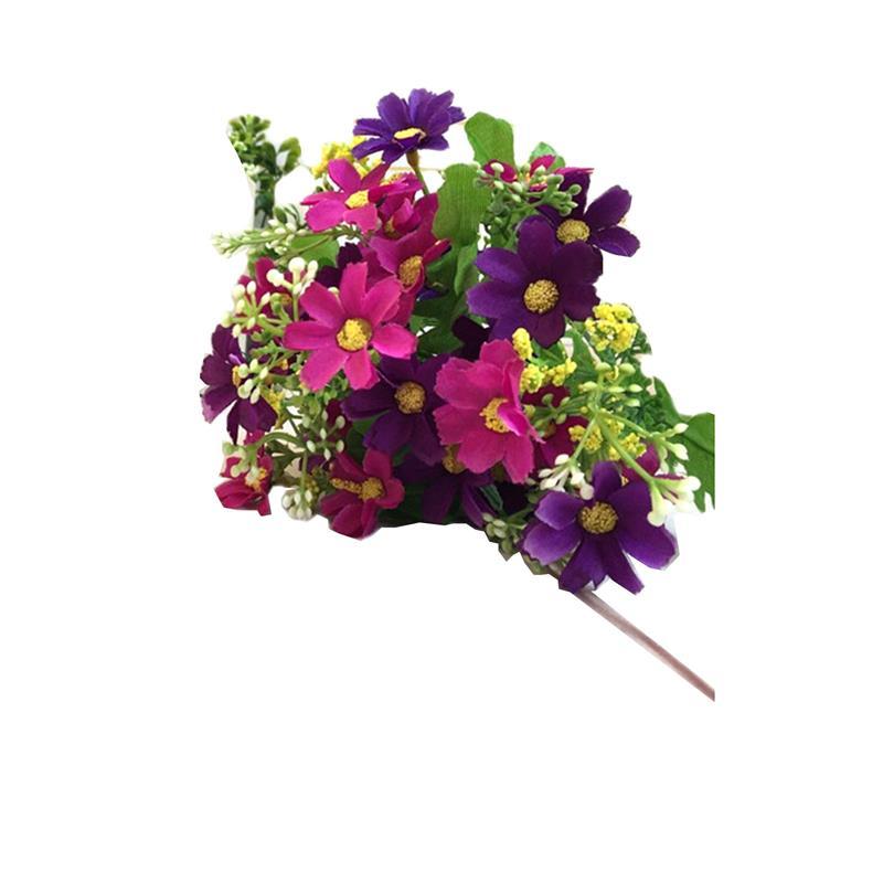 Искусственные цветы 28 глава 7 вилка прыжок орхидеи хризантемы Шелковый цветок засохший поддельные цветы для свадьбы украшения дома