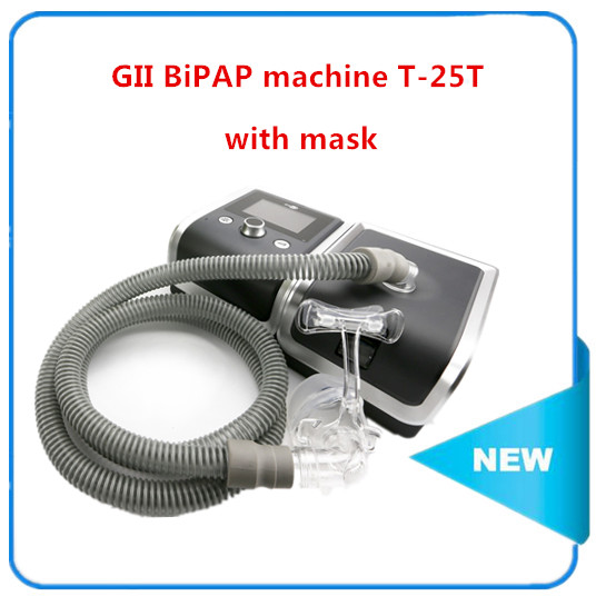 T-25T BMC Gil BPAP eléctrica máquina de respiración AUTO CPAP máquina de presión arterial oxímetro de salud Therpay máscara climatizada humidificador