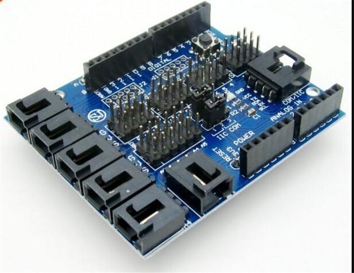 5pcs for Arduino Sensor Shield V4 0 V4 Digital Analog Module Expansion Development Board for DIY