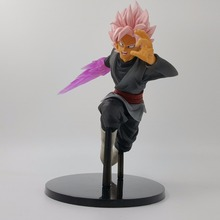 Dragon Ball Z Goku Black Zamasu Super Saiyan Figurine DBZ Anime Dragon Ball Super Action Figures Zamasu Sword Model Toy